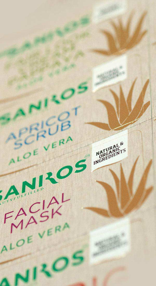 Food Labels & Stickers Printing Services in India
