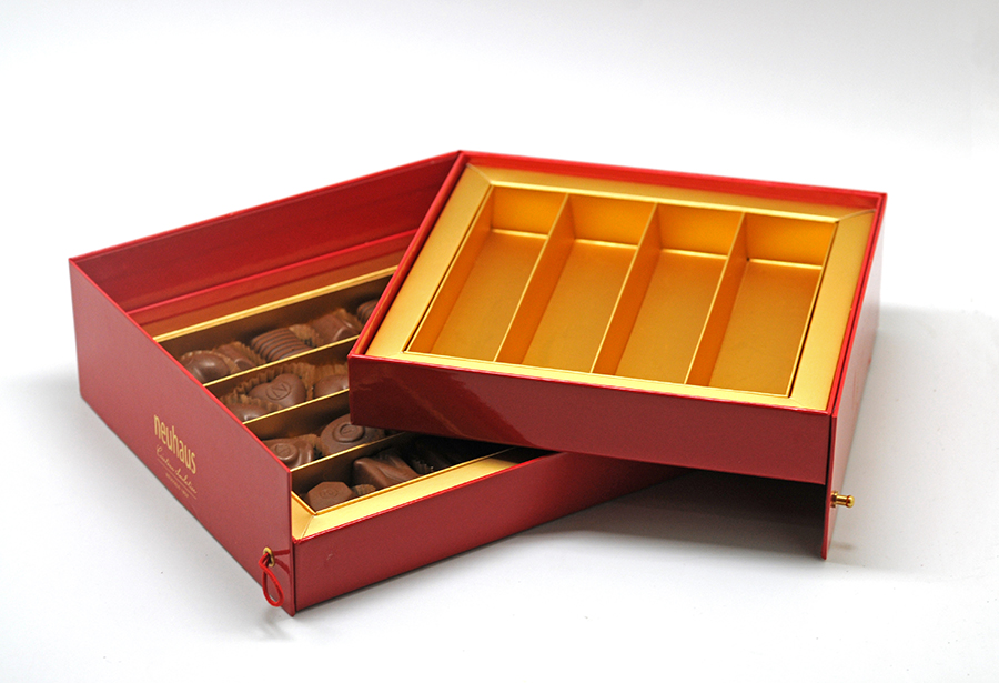 Choc double tray