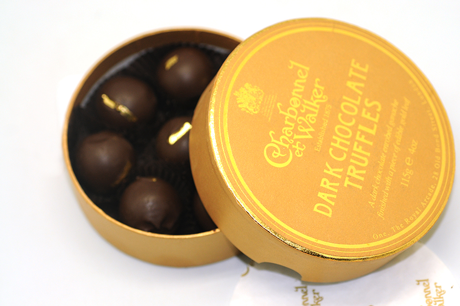 Circular Chocolate Box