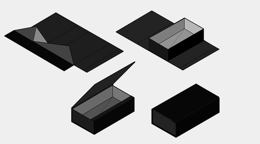 Foldable rigid boxIconImage