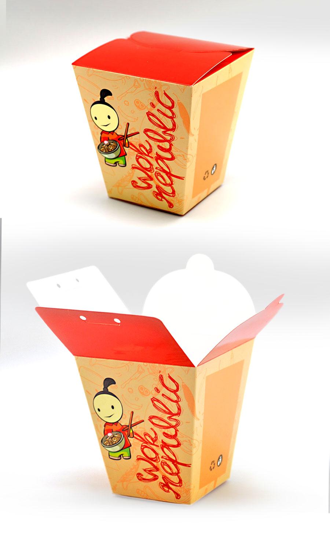 wok noodles box