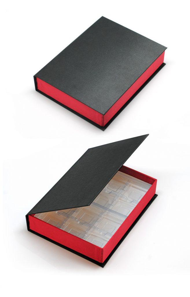High Quality Brownie rigid box