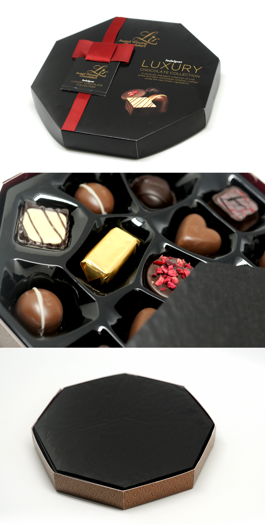 hexagonal-shape Chocolate box