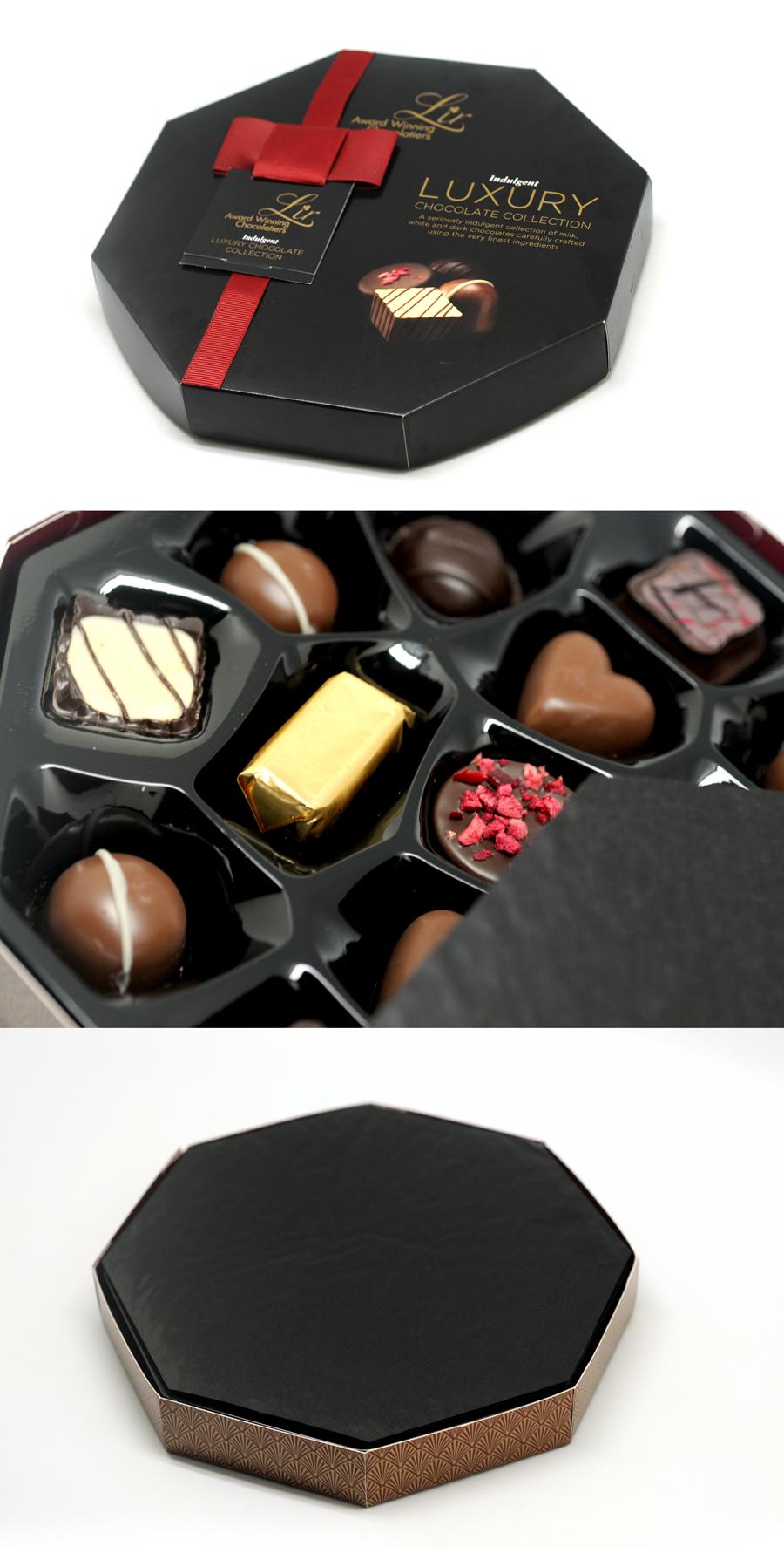 hexagonal-shape Chocolate box
