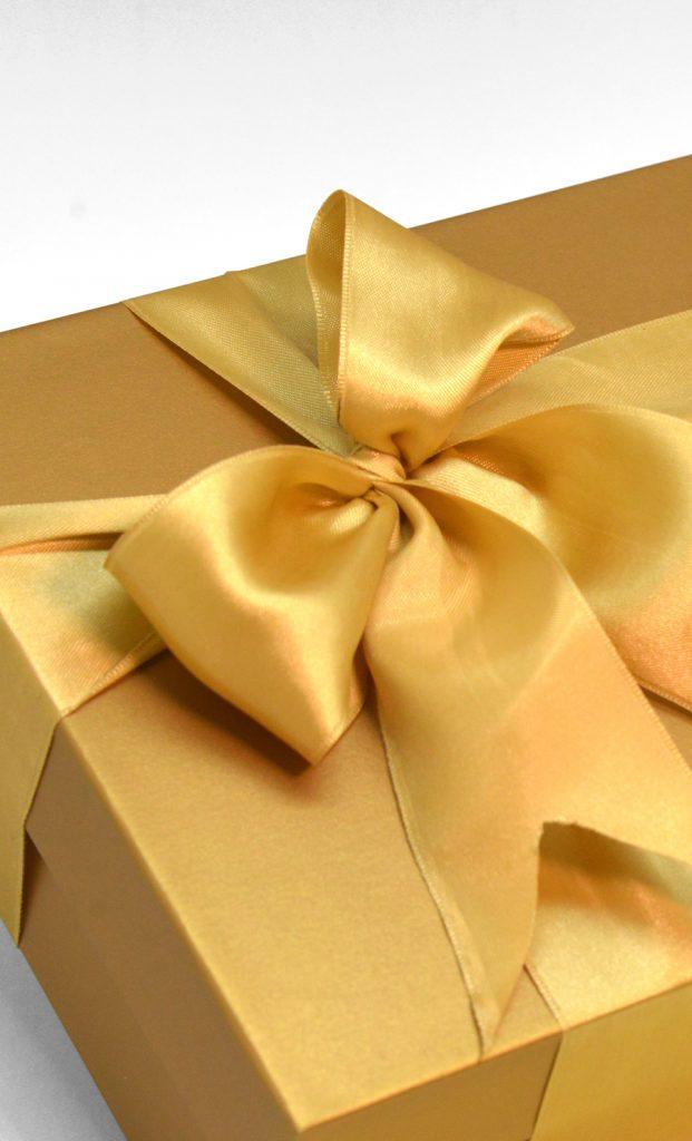 Antique Gold Gift Box Luxury Rigid BoxTH