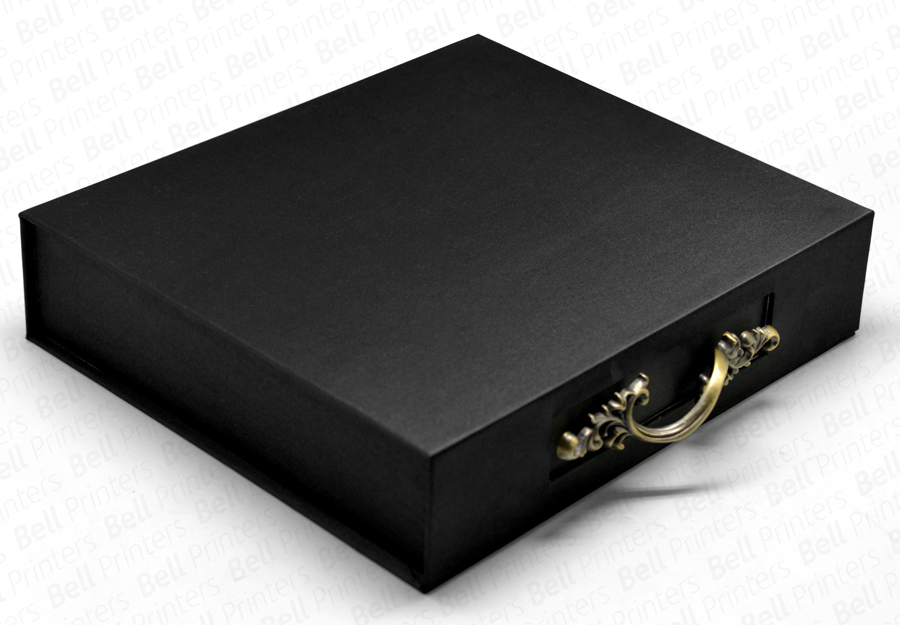 Luxury Rigid Box with Antique Handle 01