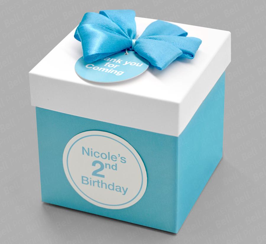 Beautiful Birthday Gift Box Small Quantity Printing
